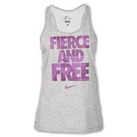 Women's Nike Fierce and Free Running Tank