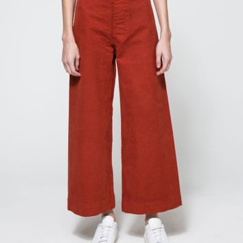 Jesse Kamm / Sailor Pant in Iron Oxide