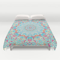 BOHO SUMMER JOURNEY Duvet Cover by Monika Strigel