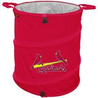 St. Louis Cardinals MLB Collapsible Trash Can