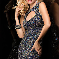 Short Sequin Homecoming Dress
