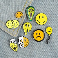 Smiley Face Pins