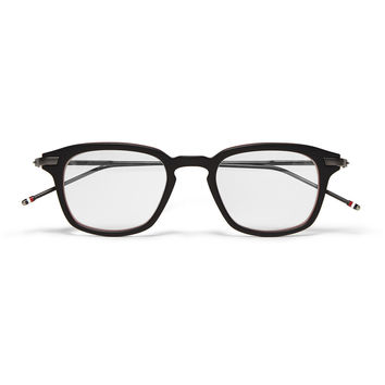 Thom Browne - Square-Frame Layered Acetate Optical Glasses | MR PORTER