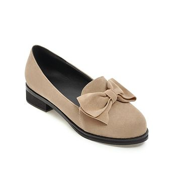 Bowknot Mid & Low Heel Pumps Shoes 9243