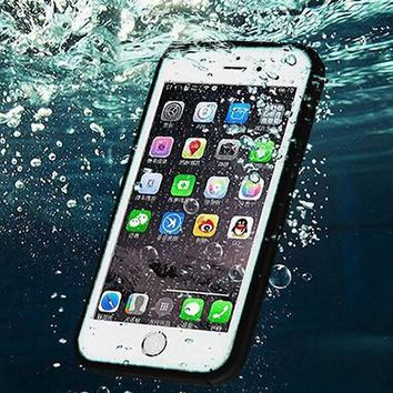waterproof underwater shockproof durable full sealed iphone 6s 6 plus 5s 5 se best protective covcer case iphone 7 7 plus case free gift box free shipping  number 1