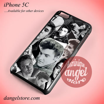 Elvis Presley Collage Phone case for iPhone 5C and another iPhone devices