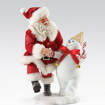 Possible Dreams Mr. Bingle & Santa Figurine | Dillards