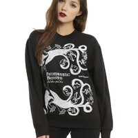 Harry Potter Fantastic Beasts And Where To Find Them Book Cover Girls Pullover Top