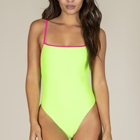 Skin by Same - One Piece | Green/Neon Pink