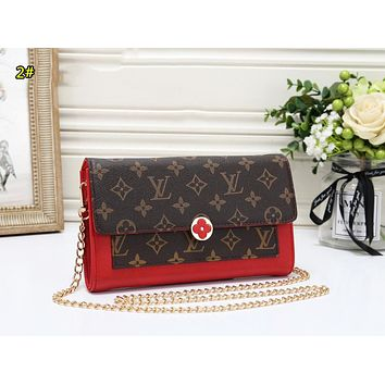 LV Louis Vuitton New fashion chain shoulder bag women 2#