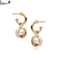 Clearance Tou--s-- Top Quality Earrings Low Price Brincos Lost Money Gift With Austrian Zirconia #RG85703