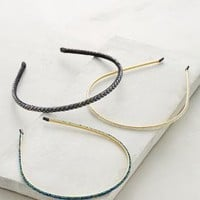 Beaded & Braided Headbands by Anthropologie