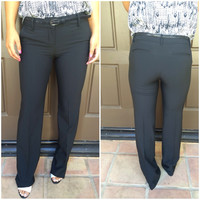 Work All Day & All Night Dress Pants - BLACK