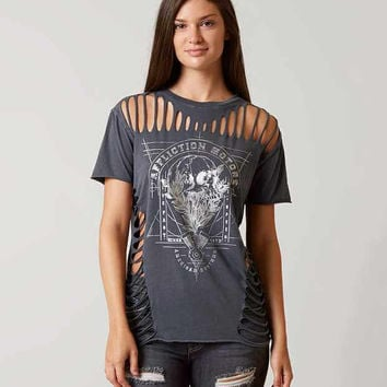 AFFLICTION AMERICAN CUSTOMS CRANIUM T-SHIRT