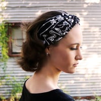 Articulator of Bones Vintage Headband
