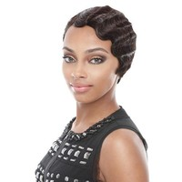 Fashion African curly hair Women Short Brown Black Front Curly Hairstyle Synthetic Hair Wigs For Brown Styling Accessory #05