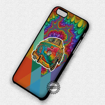 Psychedelic Geometric Colorful - iPhone 7 Plus 6S 5 SE Cases & Covers