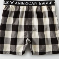 AEO Men's Buffalo Plaid Boxer