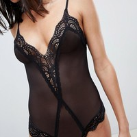 Hunkemoller Kafrana Lace Body at asos.com