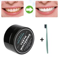 MAANGE teeth whitening Teeth Whitening Powder Natural Organic Activated Charcoal Bamboo Toothpaste