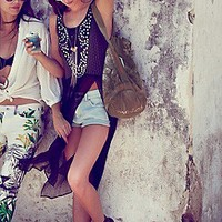 Free People  Embellished Open Panel Maxi at Free People Clothing Boutique