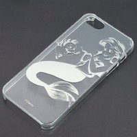 The Little Mermaid - Ariel - iPhone5 5s - Transparant Disney iPhone Case