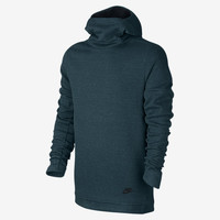 The Nike Sportswear Tech Fleece Funnel-Neck Men's Hoodie.