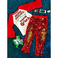 Holiday Fun Christmas Sparkle Shirt More Issues Then Grinch