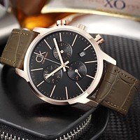 8DESS CK Calvin Klein Woman Men Fashion Quartz Movement Wristwatch Watch