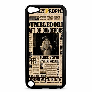 Vintage Newspaper Harry Potter iPod Touch 5 Case