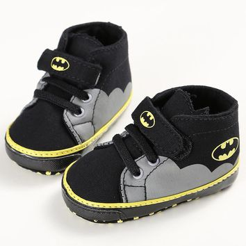 2017 Best Seller Boys Fashion Sneakers Cute Batman Big Hero Baby Shoes Fashion Baby Accessories Sale Free Shipping Dropshipping