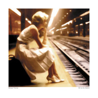 Girl at the Station Posters by George Thomas at AllPosters.com