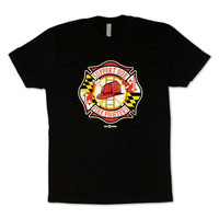 Support Our Maryland Firefighters / Shirt