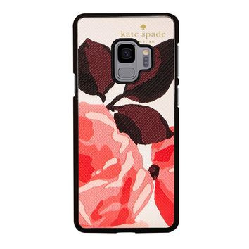 KATE SPADE CAMEROON STREET ROSES Samsung Galaxy S3 S4 S5 S6 S7 S8 S9 Edge Plus Note 3 4 5 8 Case