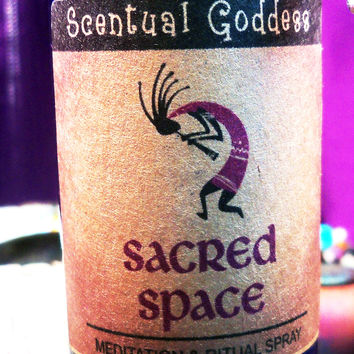 SACRED SPACE SPRAY - Kokopelli Ceremonial - Meditation Altar Pillow Spray