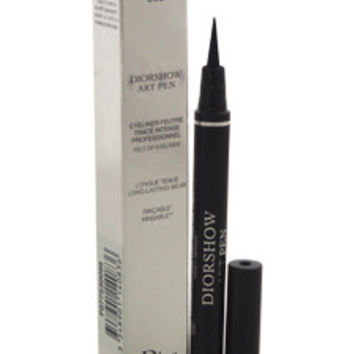 diorshow art pen eyeliner - # 095 noir podium by christian dior 0.037 oz