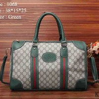 Gucci Women Leather Shoulder Bag Satchel Tote Handbag I-MYJSY-BB