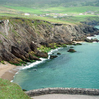 Ireland Photo Coastal Ocean View Nature and Wildlife Photo Print Matted 8x10 Free Shipping 20x24 16x20 11x14 5x7