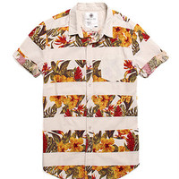 On The Byas Island Printed Short Sleeve Woven Shirt at PacSun.com