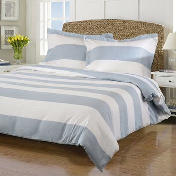 Superior Cotton Rich 600 Thread Count Cabana Duvet Cover Set - Bedding and Bedding Sets at Hayneedle