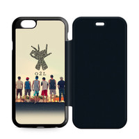 O2L Collage Hand Sign iPhone 6 Plus|6 Flip Case  Sintawaty.com