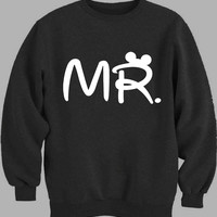 Mr Mrs disney Couple men Sweater for Mens Sweater and Womens Sweater *