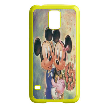 Vintage Mickey Mouse and Minnie Mouse Samsung Galaxy S5 Case