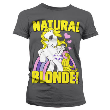 My Little Pony - Natural Blonde Girly Tee (D.Grey)