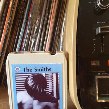 THE SMITHS 1st LP 8-Track Tape! Morrissey Rough Trade Records Post Punk Indie Britpop Fantasy Custom Piece - Rare!