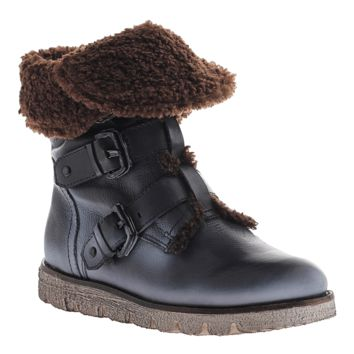 BLACK JACK in BLACK Cold Weather Boots