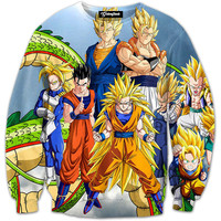Super Saiyan Family Crewneck