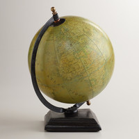 Parchment Paper Globe with Stand - World Market