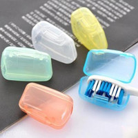 5 Portable Toothbrush head Cover Holder Travel Hiking Camping Brush Cap Case
