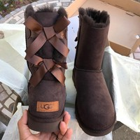 UGG authentic Bailey bow II water resistant